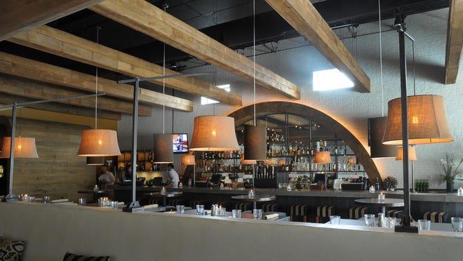 The bar area at Delicia.