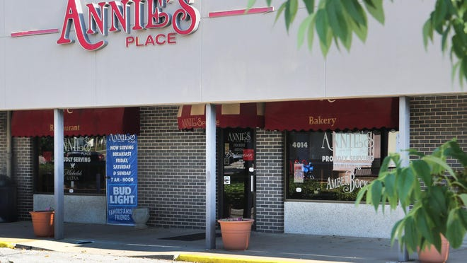 Annie's Place will be open for dine-in, carryout and curbside delivery on Thanksgiving Day.