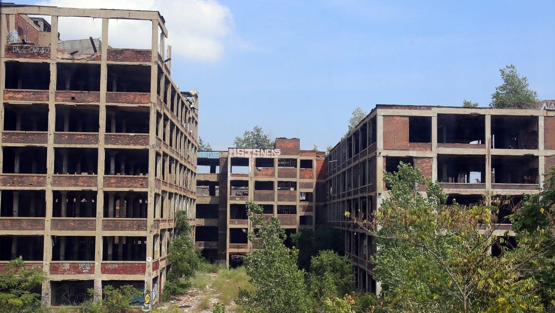 Redevelopment of Detroit's Packard Plant could begin in spring