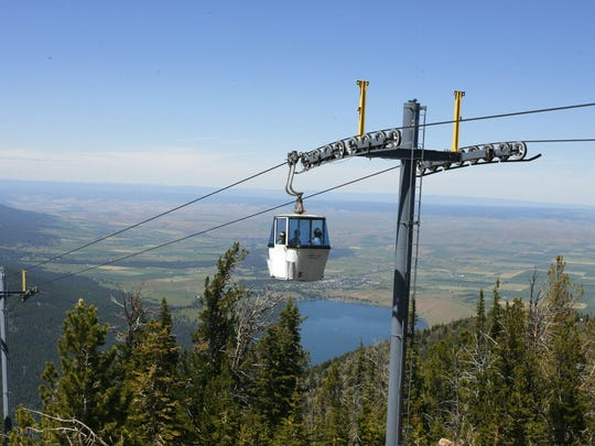The Wallowa Lake Tramway takes visitors to the top of Mount Howard where views, trails and the Summit Restaurant provide a unique experience.