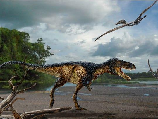 Horse-sized primitive tyrannosaur Timurlengia euotica