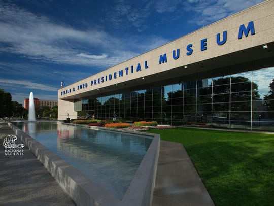 The Gerald R. Ford Presidential Museum in Grand Rapids.
