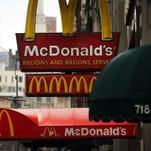 A McDonald's restaurant on Feb. 9 in lower Manhattan in New York City.