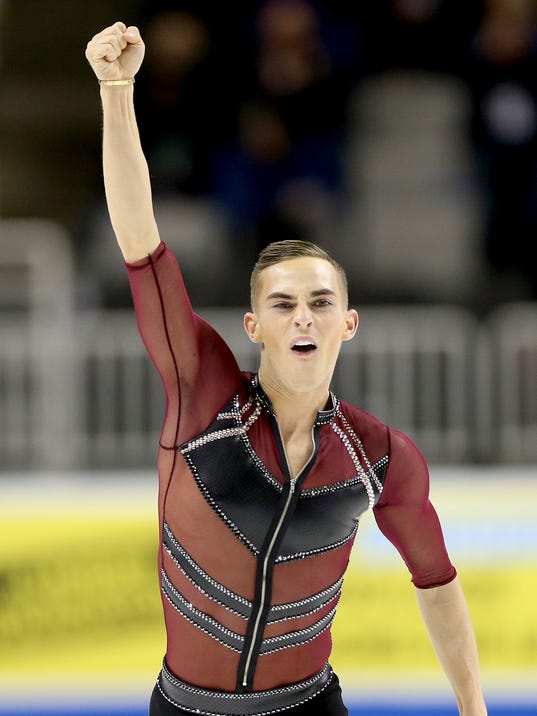 rippon single gay men Adam rippon training last week at reason that he decided in 2015 to publicly reveal that he is gay: up to the men's singles competition at.