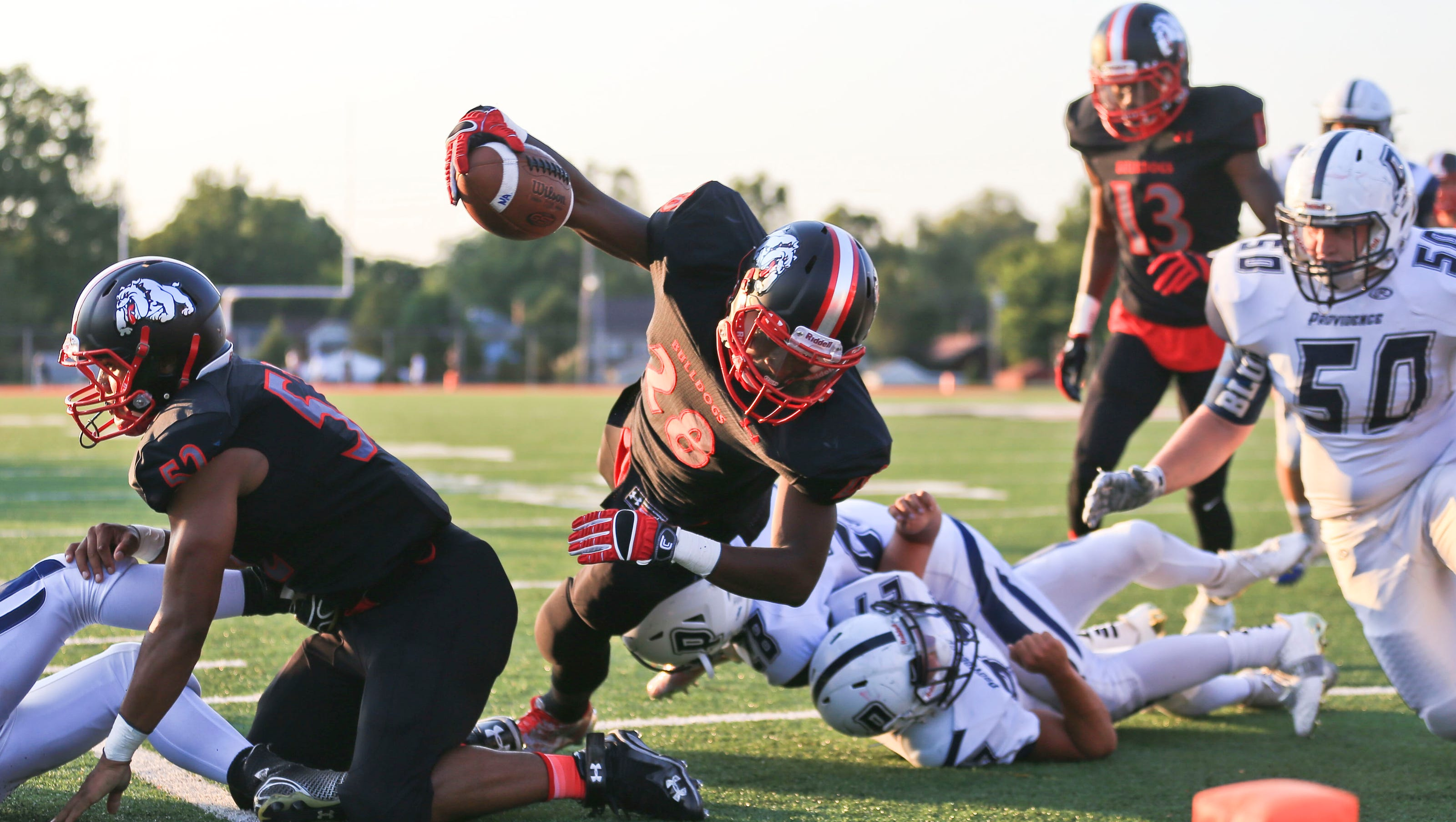 Indiana High School Football Scores For Week 1