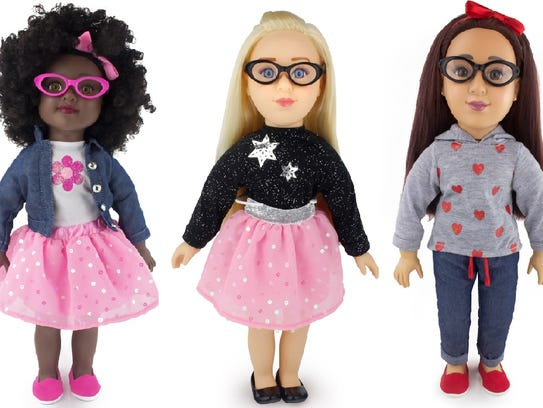 Positively Perfect Dolls Ages 3 and older Send an important