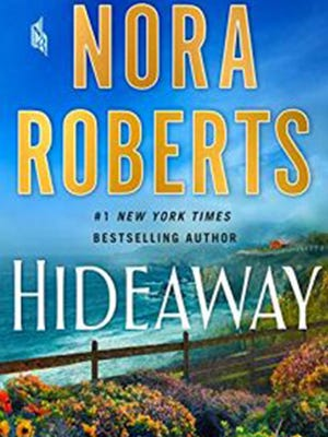 "Cover of ""Hideaway"" by Nora Roberts."