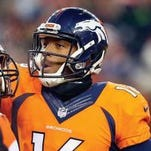 Detroit Country Day graduate Bennie Fowler (right) is headed to the Super Bowl as a wide receiver with the Denver Broncos.