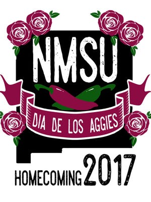 """The theme of New Mexico State University's 2017 Homecoming celebration is """"Dia de los Aggies."""""""