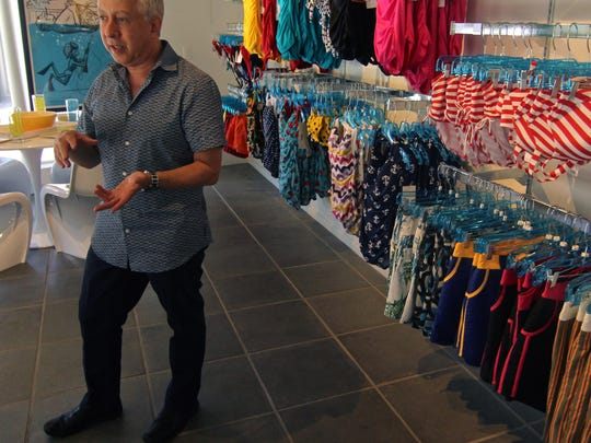 Jeffrey Bernstein, co-owner of Destination PSP and Chelsea Lane, talks about next week's grand opening of a Chelsea Lane boutique inside Destination PSP. With the closure of David's Bridal, the area lacks a store that offers bridal and formal undergarments.