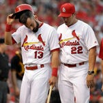 Cards' Matt Carpenter leaves game with right oblique injury