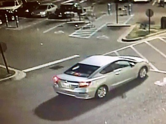 A 2014 Honda Civic is being sought by police.