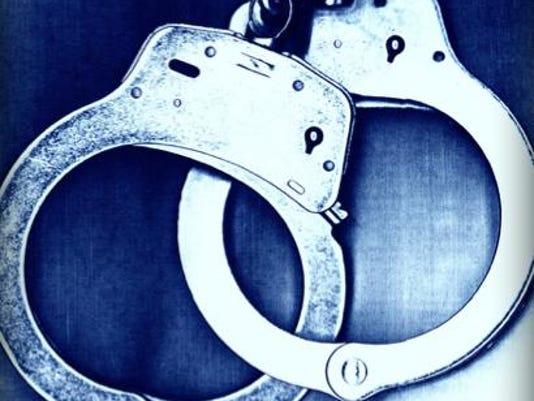 Crime handcuffs