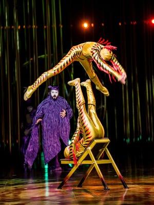 "Cirque du Soleil brings ""Varekai"" to Bridgestone Arena Wednesday through Aug. 30."