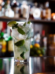 The Mojito at Ceviche Bar in Des Moines East Village on Thursday, Feb. 25, 2016.
