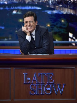 """""""The Late Show with Stephen Colbert"""" premiered last September on CBS."""