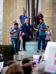 Thousands participate in the Cincinnati Sister March,