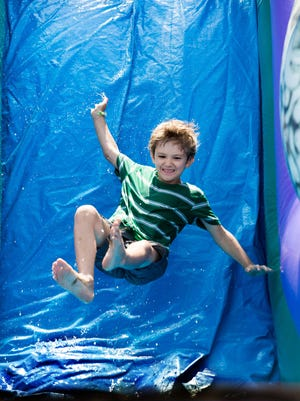 The free Waterfest festival on Sunday is a great chance to have fun cooling off and learn about water and the environment at the same time.