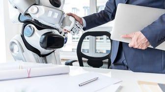 Automation and robots ar already taking jobs.