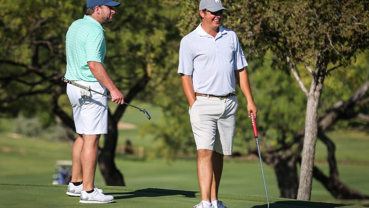 Hudson-Williams lead SACC Men's Partnership Day One