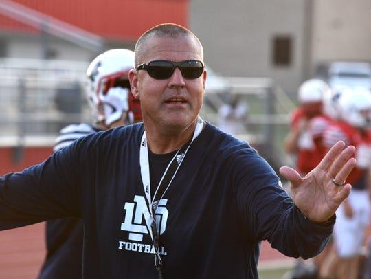 North DeSoto High School head football coach Scott