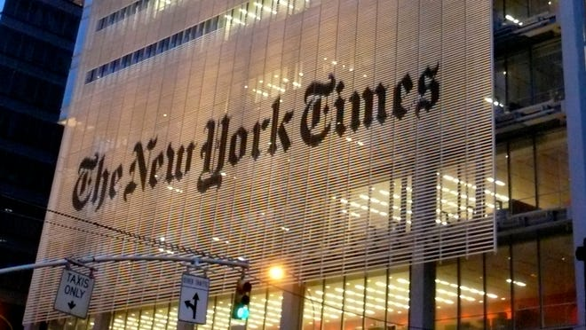 New York Times released better-than-expected first-quarter financial results before the markets opened on Thursday.