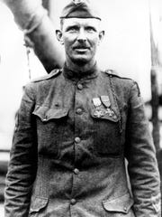This is a 1919 photo of Sgt. Alvin York of the U.S.