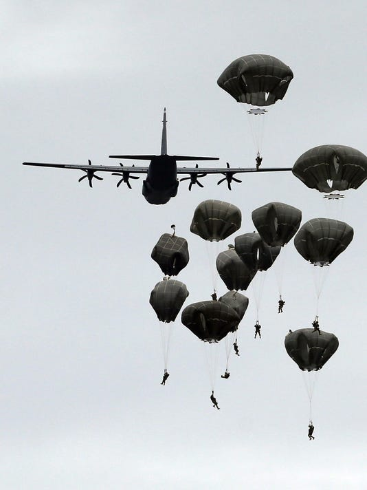 Serbia US Military Drills