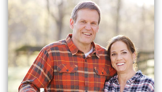 Tennessee gubernatorial candidate Bill Lee and his wife, Maria
