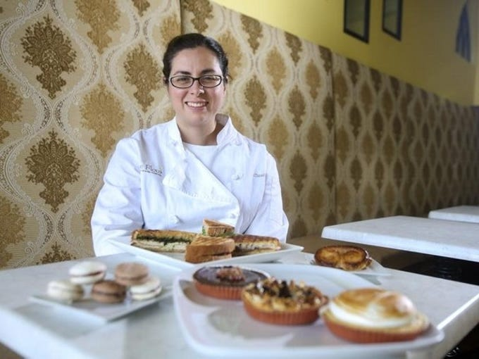 Cake Flour's Claudia DeLatorre wants to offer up quality, natural alternatives to processed foods.