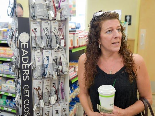 Customer Georgiana Davidson, Bayville section of Berkeley,