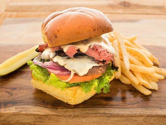 Miracle Mile Delicatessen | The Mile Burger ($12) relies