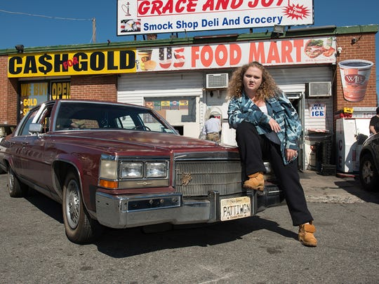 Danielle Macdonald plays aspiring rapper Patricia Dombrowski,