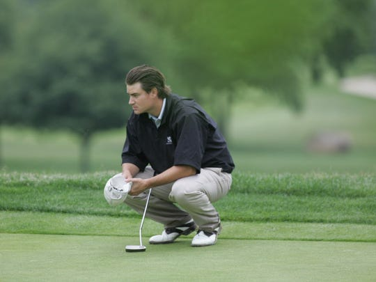 David Reasoner in June 2009 at the The NJ State Golf Open at Apple Ridge CC.