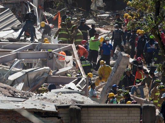 Mexico Hospital Explosion