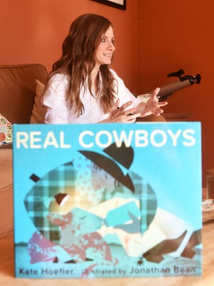 Kate Hoefler of New Concord wrote a children's book, Real Cowboys, which was published in early October.