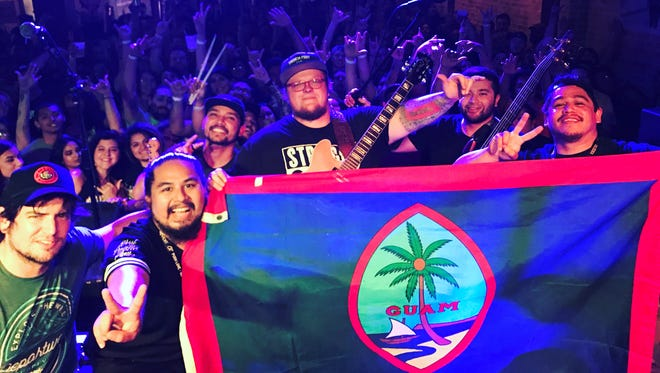 Guam natives For Peace Band show Chamorro pride while touring.