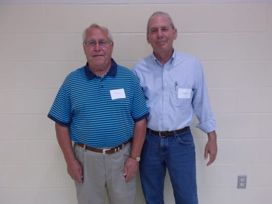 Class of McClain 1968 - L to R - Steve Lewis and Bruce