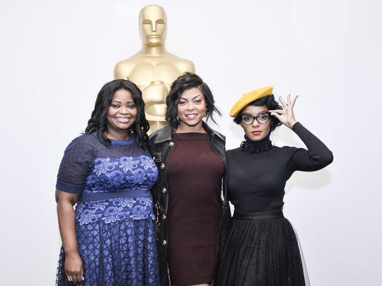 'Hidden Figures' stars Octavia Spencer (from left),