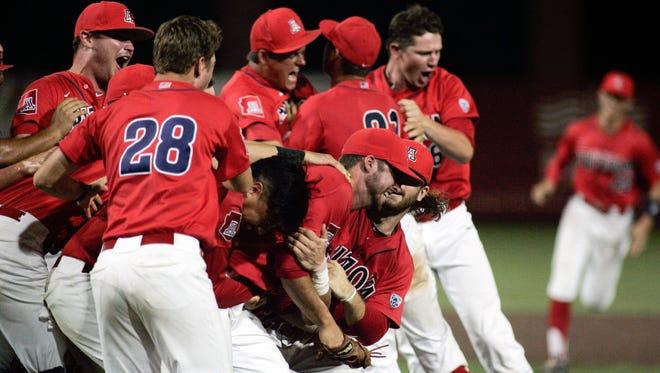 10 former Arizona high school baseball players are still in the 2016 NCAA Baseball Tournament.