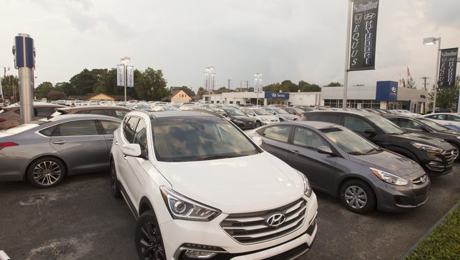 Sterling Hyundai's year-over-year new car sales rate is up 60 percent.