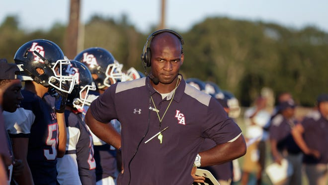 Lafayette Christian coach Trev Faulk has his Knights off to a 6-0 start in District 7-1A.