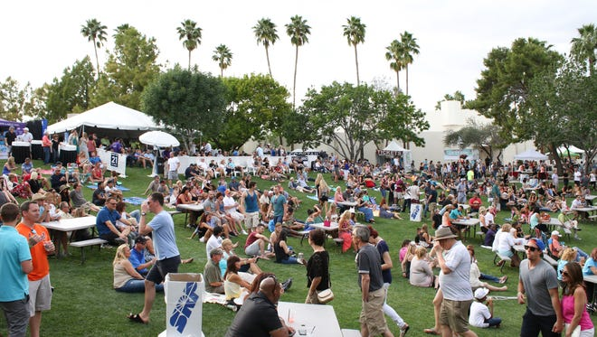Arizona's Scottsdale Culinary Festival will take place on the Scottsdale Civic Center Mall, April 8-9. Taste from more than 30 local eateries, and sip at a wine garden, beer garden, lounge or vodka deck.
