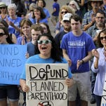 A federal judge on Wednesday questioned why Gov. Bobby Jindal's administration removed Planned Parenthood from Louisiana's Medicaid program if its clinics are competent to provide health care services.