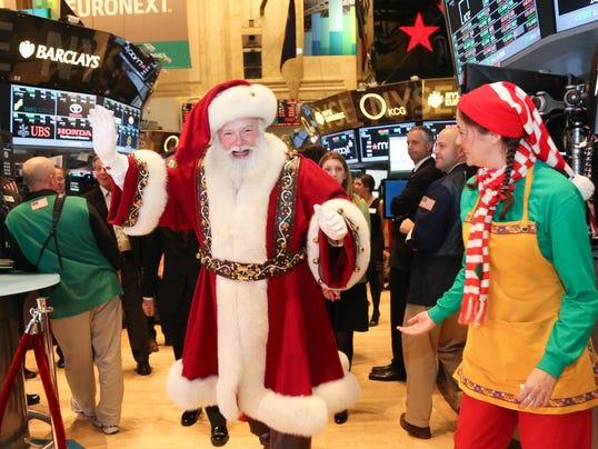 Santa stocks