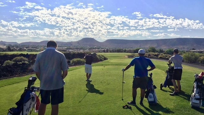 The weekly JAG tournament was held at Sunbrook Golf Club on Tuesday and it brought plenty of upsets.