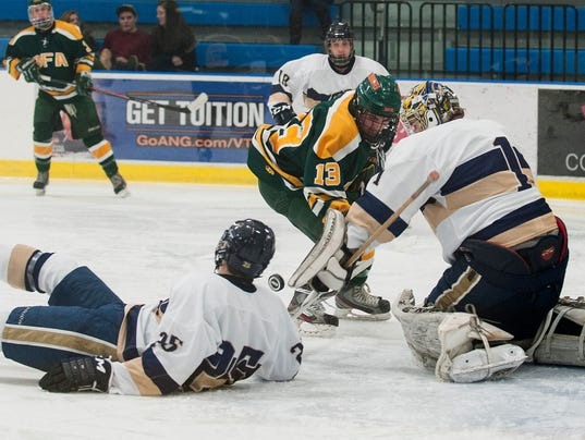 BFA St. Albans vs. Essex Boys Hockey 12/13/14