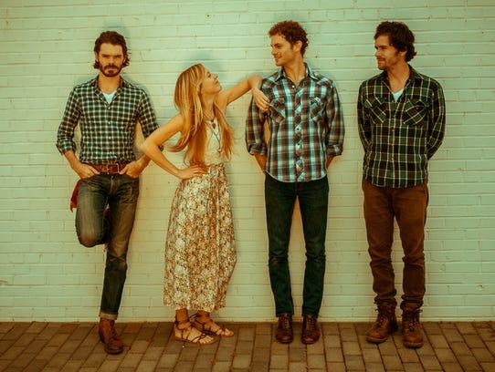Asheville's Halli Anderson, Daniel Shearin, Ryan O'Keefe
