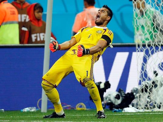 APTOPIX Brazil Soccer WCup Netherlands Argentina