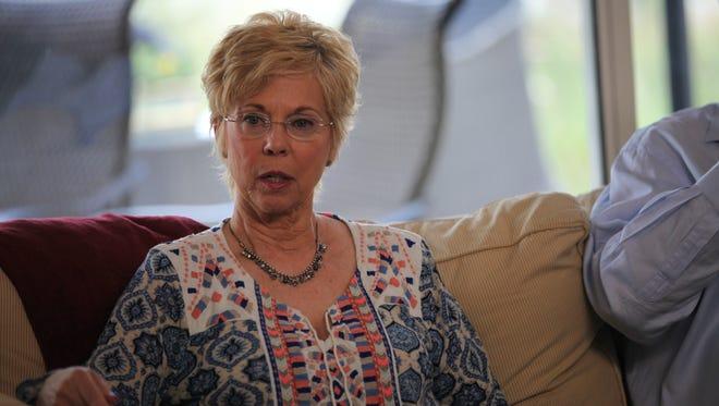 Former Scientologist Mary Kahn.